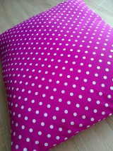 Úžitkový textil - Vankúš bodka.. - 8444076_