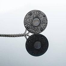 Náhrdelníky - Prívesok s mesačným kameňom II. - 8444619_