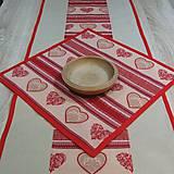 - Nordic Vianoce - obrus štvorec 42x42 - 8445329_