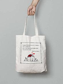 Nákupné tašky - Citát o domove - 8448228_