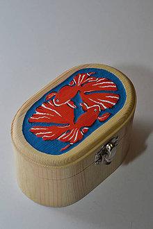 Prstene - Krabička - Yin Yang rybky - 8446304_