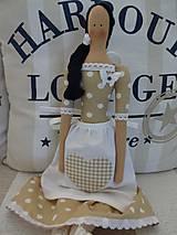 Bábiky - Hnedá v zásterke - 8448013_