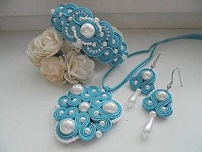 Sady šperkov - Soutache set Maya - 8447448_