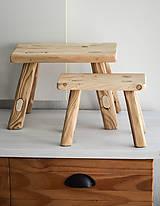 Dekorácie - mini stolček XS - 8447066_
