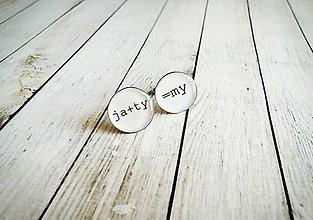 Šperky - Manžetové gombíky - 8447885_