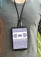 Na mobil - Univerzálne púzdro na mobil vzor čičmany rôzne farby - 8446295_