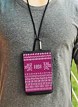 Na mobil - Univerzálne púzdro na mobil vzor čičmany rôzne farby - 8446296_