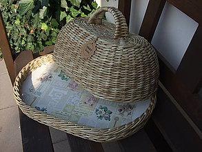 Nádoby - Oválny chlebník 40x30x20 - 8447135_