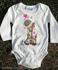 Detské oblečenie - Roztomilá žirafa - 8446956_