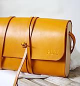 - Listová kabelka MINI CLUTCH HONEY - 8447796_