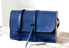 Kabelky - Listová kabelka MINI CLUTCH ROYAL BLUE - 8447940_