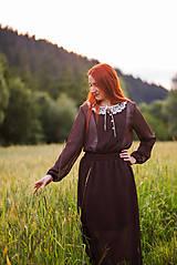 - Bodkované vintage šaty - 8446733_