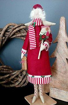 Bábiky - Vianočný škriatok - 8447397_