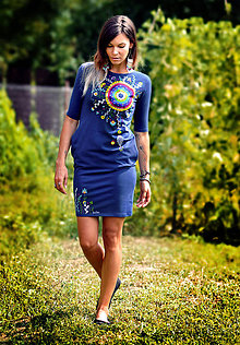 Šaty - Šaty - Blue Shine - 8446117_