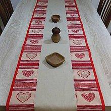 Úžitkový textil - Nordic - stredový obrus(2) 145x43 - 8447347_