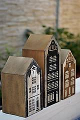 Dekorácie - Vintage domčeky - 8446113_