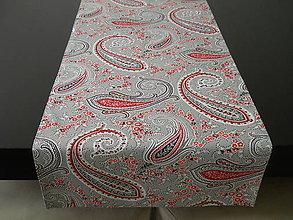 Úžitkový textil - Štóla - Šedý kašmír - 8449186_