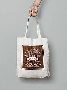 Nákupné tašky - Ako sa do hory volá... - 8450487_