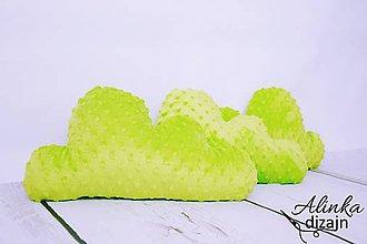 Textil - Minky lemon obláčik vankúšik - 8448468_
