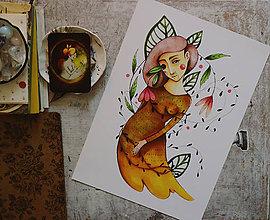 Grafika - Lujza Kvetinová - 8449938_