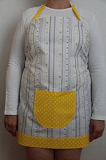 Iné oblečenie - Hviezdičková zásterka - 8450123_