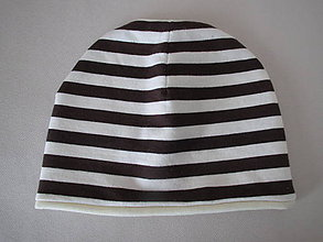 Detské čiapky - Coconut - dvojvrstvová čiapka s MERINOM - 8449389_