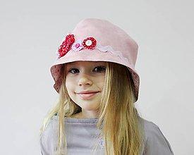 Detské čiapky - Romantika - 8450278_