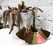 - Náušnice Cactus - 8449624_