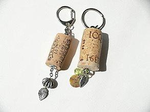 Kľúčenky - Prívesok pre vínkarov - 8449116_