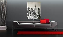 "Obrazy - ""BROOKLYN BRIDGE"" -mesto NewYork - 8448649_"