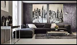 "Obrazy - ""BROOKLYN BRIDGE"" -mesto NewYork - 8448650_"