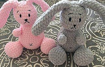 Hračky - Zajačik šedomodrý - 8449805_