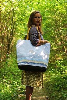 Veľké tašky - Plážovka...srpnové slunce - 8450239_