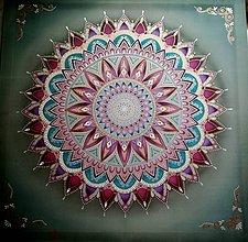 Obrazy - Mandala/ Strážca snov, pokoja a milosti - 8449416_