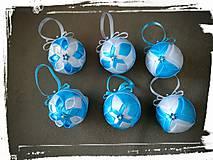 Dekorácie - Vianočná guľa 4cm - 8451757_