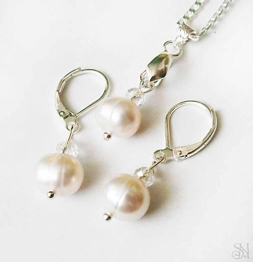 1c131cb64 Sada šperkov z riečnych perál - striebro 925 / SperkySaN - SAShE.sk ...