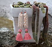 - Náušnice Mexican desert - 8453106_