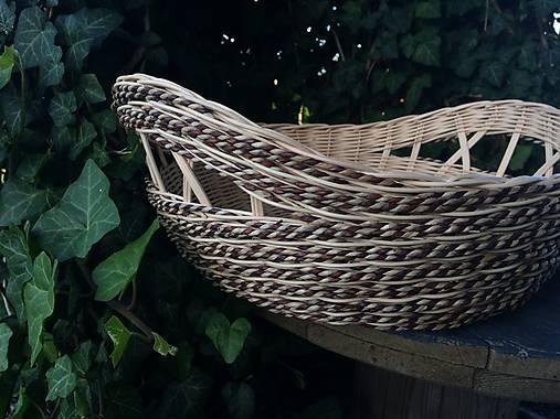 2886f6653 Košík z pedigu a elhar šnúry / Endula - SAShE.sk - Handmade Košíky
