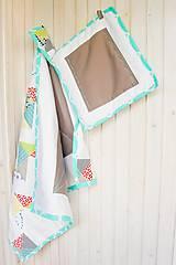 Textil - Baby ribon quilt boy (detský prehoz) - 8452358_