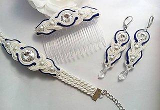 Sady šperkov - Svadobná šujtáš súprava \