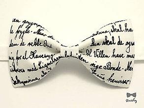 Doplnky - Pánsky motýlik - Almanachový II - 8453200_