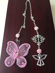 Papiernictvo - Záložka motýlik s anjelikom / rezervované - 8451203_