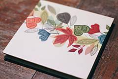 Papiernictvo - Leporelo 13x13 ,,Farebná jeseň,, - 8450672_