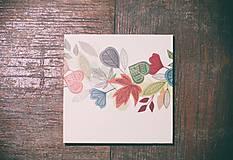 Leporelo 13x13 ,,Farebná jeseň,,