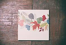 Papiernictvo - Leporelo 13x13 ,,Farebná jeseň,, - 8450673_