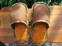 Obuv - Detské oranžové papuče - 8451634_