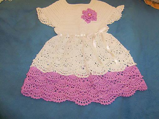 2ba6f487c Háčkované detské šaty / babenka - SAShE.sk - Handmade Detské oblečenie