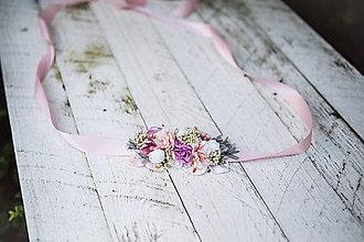 Opasky - Nežný kvetinový opasok