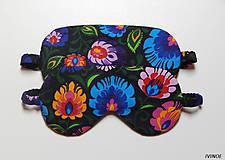 Nezaradené - Masky na spanie s rustikálnym motývom - 8452622_