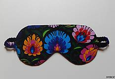Nezaradené - Masky na spanie s rustikálnym motývom - 8452623_